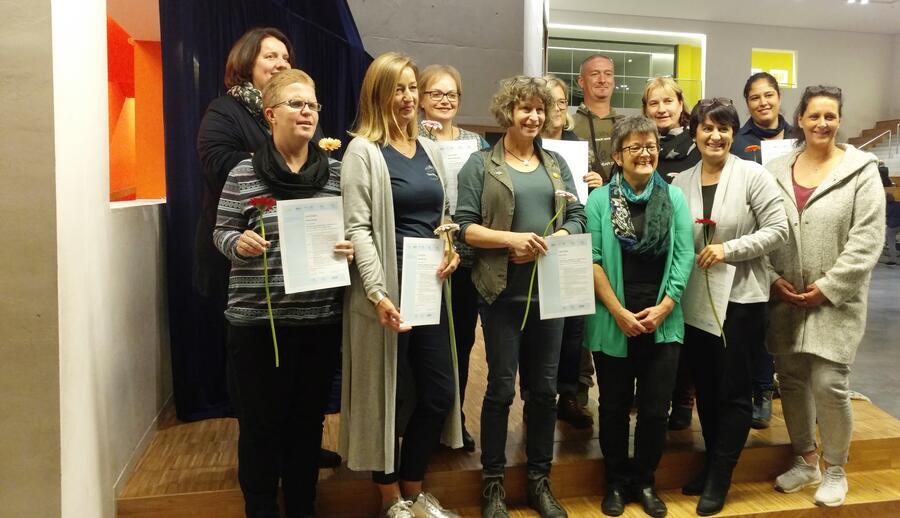 13 pädagogische Fachkräfte aus dem Kreis Herzogtum Lauenburg erfolgreich qualifiziert