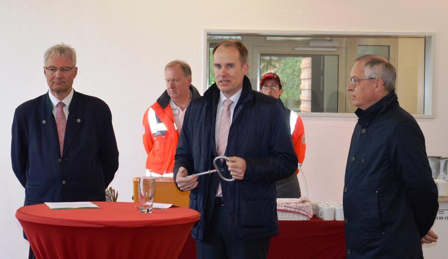 Dr. Schmidt, Dr. Mager, Architekt Grage